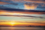 Sunset over North Uist, Outer Hebrides