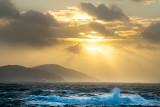Sunset over Dursey Island