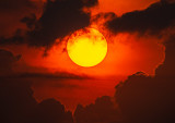 Harmattan Sunset