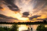 Golden Hour - Western Sky