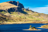Old Man of Storr and Loch Fada (Long Lake)