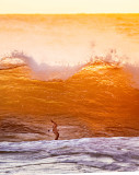 Sunset Wave Rider