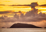 Cloud Formation at Dusk over Scariff Island