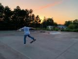 DIY skate spot end of miller