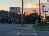 Sundown on Webster