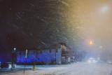 Snowstorm on Payne Ave