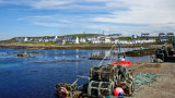 Portnahaven from the boatyard