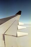 Sur le vol de retour.