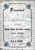 1911, 16TH DECEMBER - BOB BRADLEY, MY GRANDFATHER'S G.W. BARBER..jpg