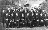 1918, NOVEMBER - DICKIE DOYLE, SIGNAL SCHOOL, RNB SHOTLEY, W.T. OFFICERS AND STAFF..jpg