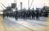1928, 18TH APRIL - CHRIST THEOBOALD, GANGES BOYS ON PARKESTON QUAY..jpg