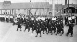 1943, 10 SEPTEMBER - WRNS MARCHING COMP. 250 WRNS FROM VARIOUS BASES. SOURCE IWM, A