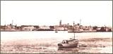 1945 PLUS - JOHN ROBERT THWAITES, TAKEN SHORTLY AFTER THE WAR FROM SHOTLEY LOOKING HARWICH..jpg