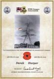 1949-2019 15TH MARCH - DEREK HAPER, 70TH CERTIFICATE HMSGA..jpg