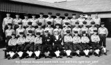 1954, SEPTEMBER - DOUG SMITH, ANNEXE, I AM 3RD FROM RIGHT AND BRIAN HUBBARD IS 5TH FROM LEFT BACK ROW..jpg