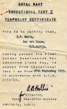 1955, 29TH SEPTEMBER - DOUG SMITH, TEMP. ET1 CERT..jpg