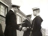 1956 - RAMON RIGG, RECEIVING SILVER CALL AND CHAIN. 1..jpg
