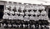 1956, 4TH SEPTEMBER - BRIAN ROY MARLOW, RODNEY, 27 CLASS, I AM SHORTEST IN BACK ROW, IAN THOMSON FRONT ROW 3RD FROM RIGHT,