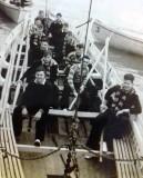 1956-57 - REGINALD PURKISS, I AM 3RD FROM BOW, PORT SIDE..jpg