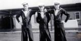 1956, 4TH SEPTEMBER - BRIAN ROY MARLOW. TWIGGY HAZEL, BRIAN MARLOW AND STEVE GEAR..jpg