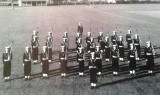 1958-1959 - JOHN POTTER,  201, BUNTINGS CLASS, 201 AND 392 CLASSES GUARD WITH CRS STANKISTE..jpg
