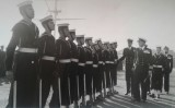1958-1959 - JOHN POTTER,  201, BUNTINGS CLASS, 201 AND 392 CLASSES GUARD, INSPECTED BY CAPTAIN FRANKS..jpg
