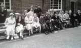 1958-1959 - JOHN POTTER, ANSON, 201, BUNTINGS CLASS, 21 MESS, THEN FROBISHER, 36 MESS, MUM AND SISTER AT PARENTS DAY.