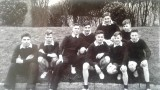 1958-1959 - JOHN POTTER, FROBISHER CROSS COUNTRY TEAM, JAN CORNWALL, MYSELF AND ANDY ANDERSON FRONT RIGHT..jpg