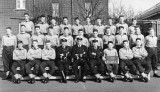 1959, FEBRUARY - BIFF GRIFFIN, BENBOW, 158 CLASS, I AM HOLDING THE BOARD..jpg