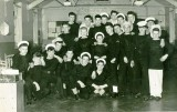 1959, FEBRUARY - MICHAEL DAVID TOWNSEND DSM, 20 RECR.  I AM MIDDLE OF BACKROW WITH CAP ON.  SOME WAFUs..jpg