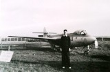 1960, NOVEMBER - COLIN SCHIRALDI, ONE OF THE AIRCRAFT AT GANGES FOR TRAINING CHOCKHEADS..jpg