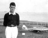 1960-61 - DENNIS WINN, DUNCAN, 222 CLASS, NEAR THE SPORTS FIELD WITH A SEA HAWK..jpg