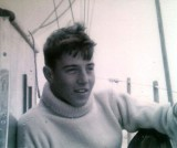 1961 - COLIN SCHIRALDI, ONBOARD MALIBOUR [A YACHT USED BY GANGES - FORMERLY GORING'S PERSONAL YACHT].jpg