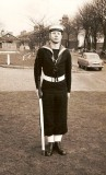 1961, 5TH JUNE - COLIN KING, 40 RECR.,EXMOUTH DIV. 332 CLASS, GUARD PREPARATION..jpg