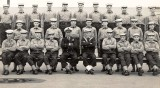 1961, FEBRUARY - CHRIS SMITH, 38 RECR., ANNEXE, BULWARK MESS, I AM 4TH FROM LEFT TOP ROW NEXT TO ROBIN SWAINE 3RD LEFT,