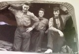 1961, JULY - GEORGE LEES, I AM ON THE RIGHT, TUG WILSON IS ON LEFT.  REMAINING ONE MAYBE JME BW HOLMES..jpg