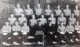 1961, SEPTEMBER - TED HITCHEN, 43B RECR., RODNEY, 12 MESS, 29 CLASS, I AM FRONT ROW 2ND FROM LEFT..jpg
