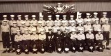 1962, 10TH OCTOBER - SAMUEL CHAMBERS, ANNEXE DREADNOUGHT MESS, I AM LEFT MIDDLE ROW, 2ND LEFT JEFF EVANS, 3RD LEFT JEFF LARGE, 4