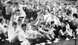 1963, 11TH NOVEMBER - COLIN CHAPMAN, 63 RECR., BLAKE, 7 MESS, SPORTS DAY