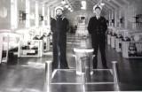 1963, 5TH FEBRUARY - JOHN WRIGHT, RODNEY, 14 MESS, BOB SHLLING AND BUNGEY EDWARDS..jpg