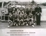 1963 - PAUL BROOKMAN, COLLINGWOOD, 240 CLASS, LT. CDR. DE WITT, KELLY, FRANCIS, JAMIESON, COATES, UNDERWOOD, CARR, RACKHAM, MARK