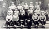1963, 5TH FEBRUARY - TREVOR HOLMES, 56 RECR., ANNEXE BULWARK MESS, CPO GRIGSBY, THEN DRAKE 920 MESS, COOKS AND DUSTIES.