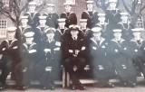 1963, OCTOBER - RAYMOND JOSEY, DO WAS LT. CDR. PHILLIPS, F.A.A., TALLEST NAVAL OFFICER AND A REAL GENTLEMAN..jpg