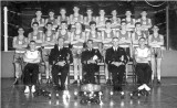 1964, 4TH MAY - LAURIE MULLEN, BOXING TEAM, PETE VOCE 1ST RIGHT FRONT ROW, COLIN FIRTH 4TH RIGHT FROM ROW. CAPT. PLAICE..jpg
