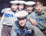 1964, 22ND SEPTEMBER - ALBERT CALLAND, GRENVILLE, 22 MESS, AND EVEN MORE OF THE BOYS IN THE MESS..jpg