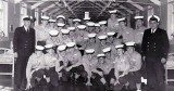 1964, SEPTEMBER - GEOFF SALKELD, 71 RECR., ANSON, 18 MESS, CME JAN EARLE, MECH1 TAFF TOUIGHE..jpg