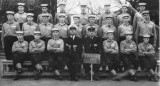 1964-65 - BOB CROXON, BEM, FROBISHER, 182 CLASS, STOKERS AND FAA, INSTR., I  AM STANDING BEHIND THE INSTR. CPO STONES, BUSTER BR