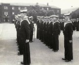 1965 - COLIN BLAIR, FROBISHER, 30 MESS, SUNDAY DIVISIONS, CAPT. PLACE, I AM IN FOREGROUND 2ND RANK..jpg
