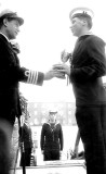 1965 - IAN PHILLIPS, FROBISHER, 32 MESS, MYSELF RECEIVING CUP FOR BEST MESS FROM CAPT. PLACE VC..jpg