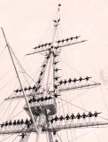 1964, 24TH AUGUST - RALPH EDWARDS, DRAKE DIV. MANNING THE MAST ON PARENTS DAY 1965, 01.